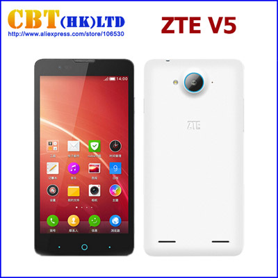 ZTE V5 Nubia Smartphone Quad Core Android 4.2 OS 5-inch TFT Screen 4GB ROM 13.0MP Camera GPS